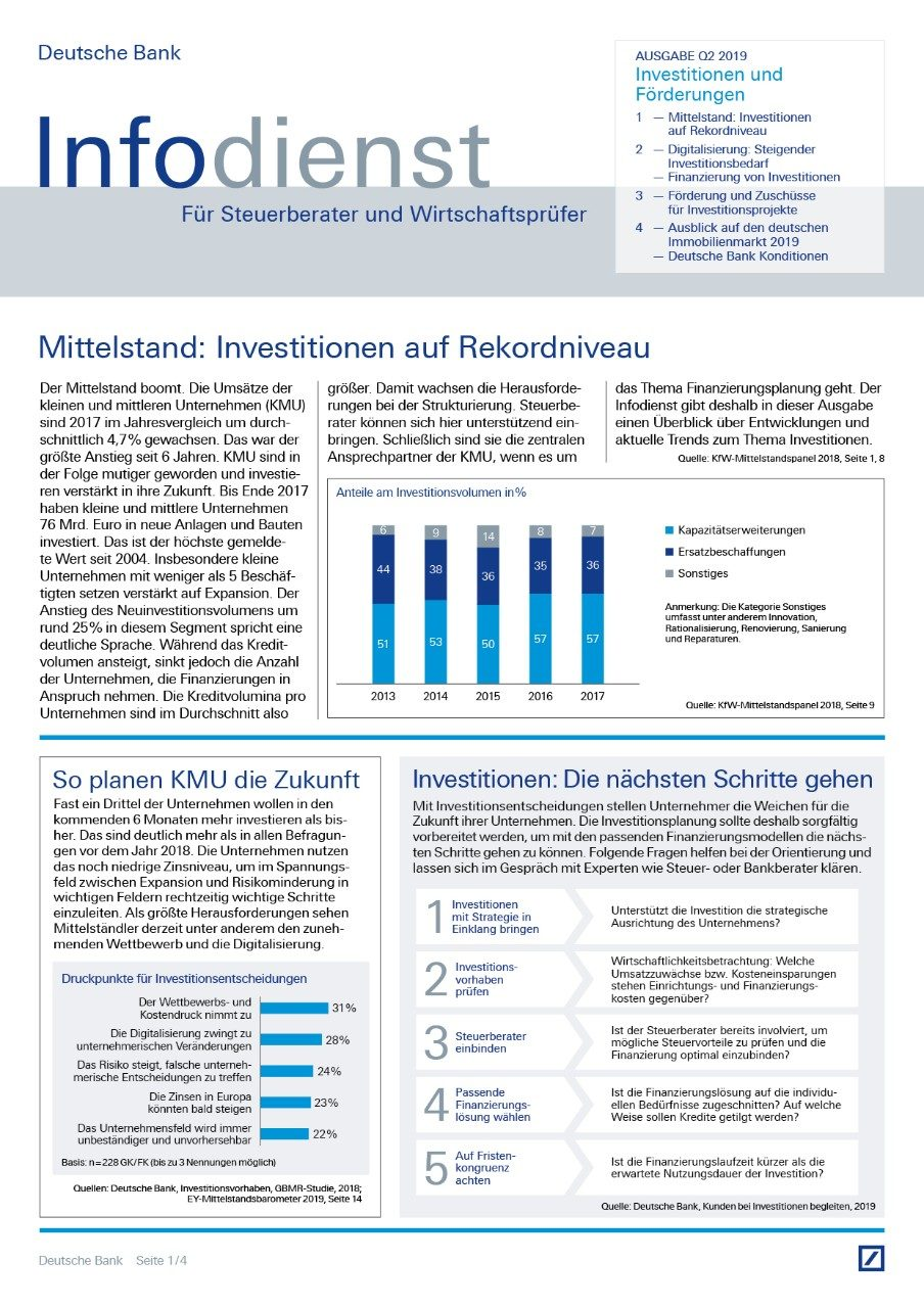 Infodienst Steuerberater und Wirtschaftsprüfer 02/2019