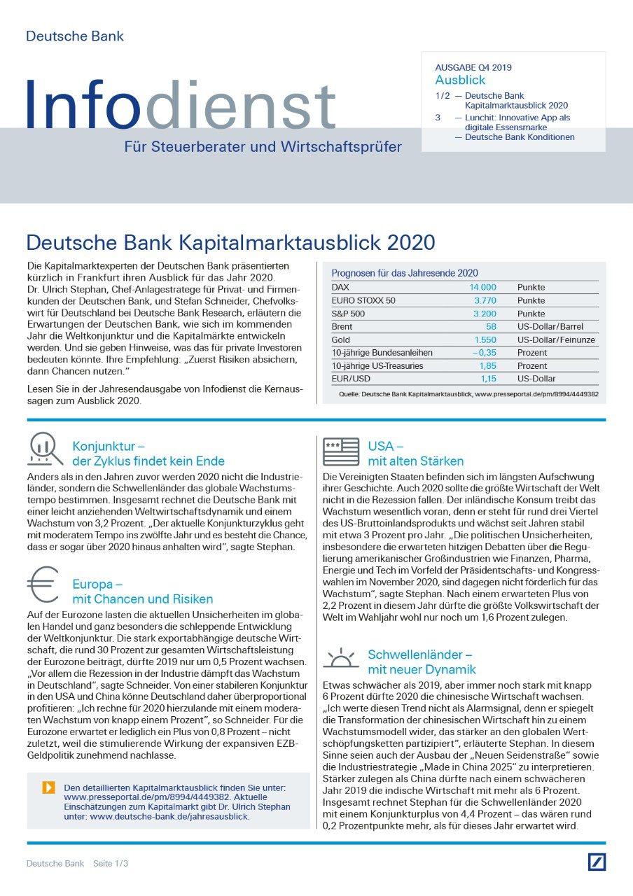 Infodienst Steuerberater und Wirtschaftsprüfer 04/2019
