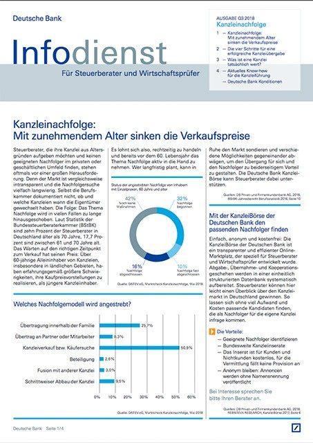 Infodienst Steuerberater und Wirtschaftsprüfer 03/2018