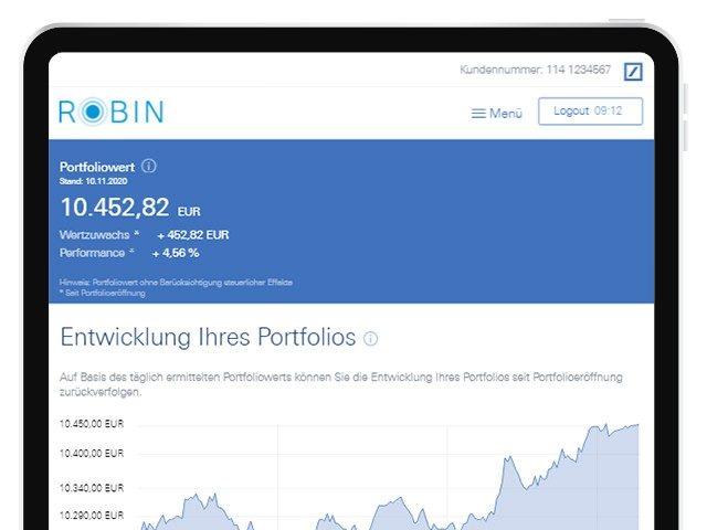 Robin - Digitale Vermögensverwaltung
