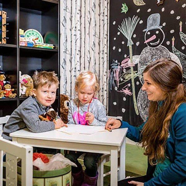 Kids Corner – eigener Freiraum für die Kleinen