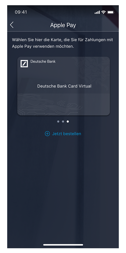 Deutsche Bank Ec Karte.Apple Pay Deutsche Bank Deutsche Bank Privatkunden