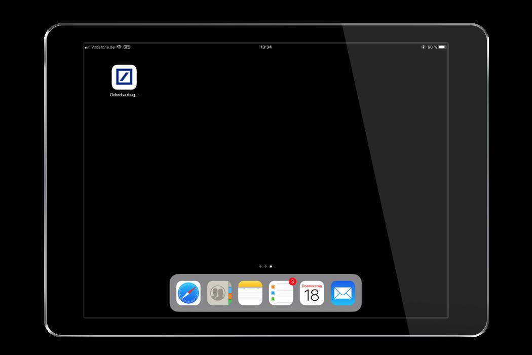 iPad Schritt 4