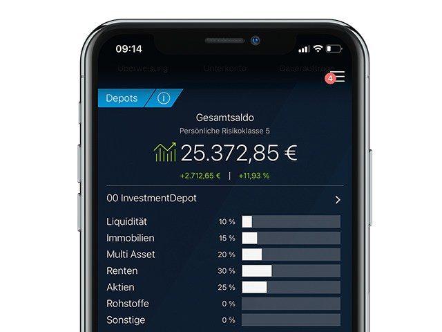 """Smart Traden mit der """"Deutsche Bank Mobile""""-App"""