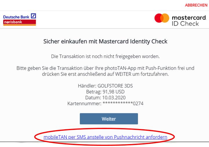 Id nicht karte registriert werden s diese check kann Häufig gestellte