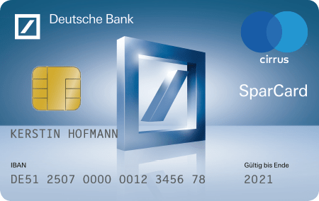 Sparcard Deutsche Bank Privatkunden