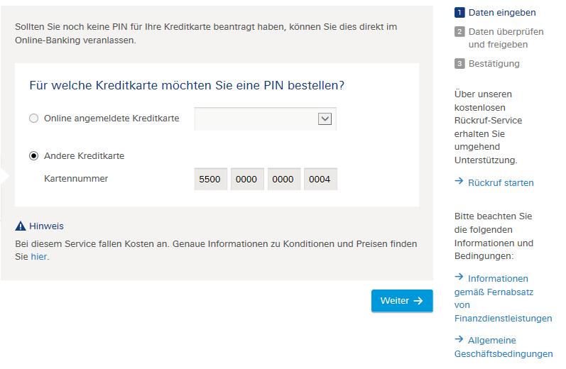 Deutsche Bank Online Pin ändern