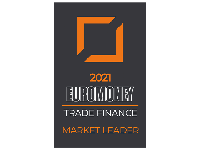 Euromoney Trade Finance Market Leader 2021