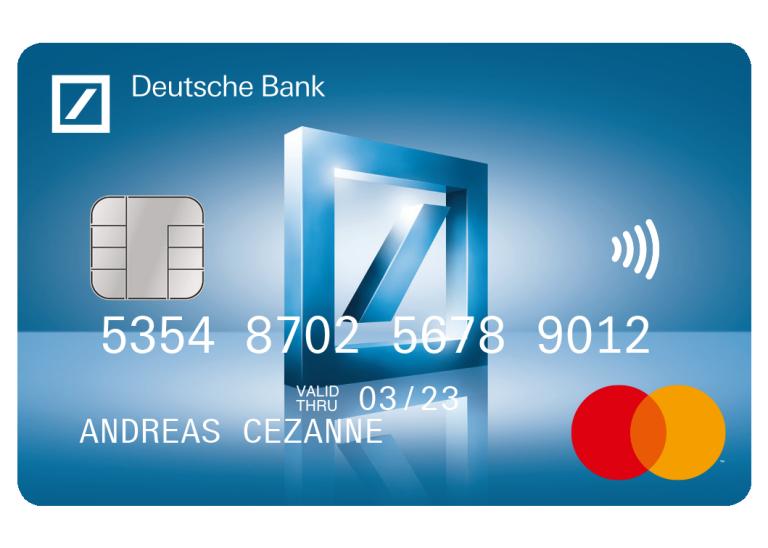 Kreditkarte Einfach Online Beantragen Deutsche Bank Privatkunden