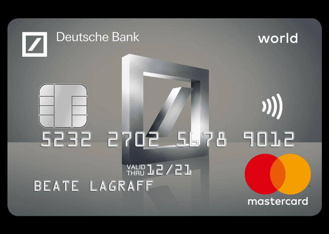Kreditkarte Einfach online beantragen – Deutsche Bank
