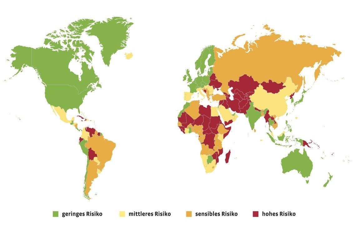 Länderrisiken im Überblick